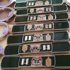 sapper army key chain