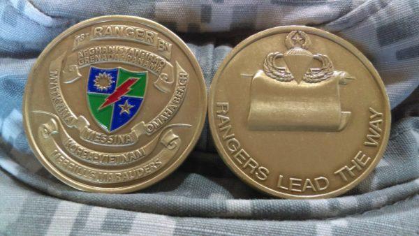 1st Army Range Battalion Challenge Coin Global War on Terror