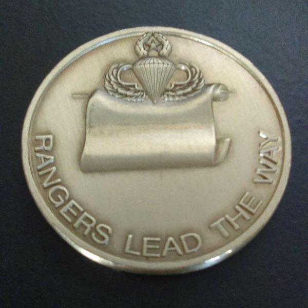 1st Army Range Battalion Challenge Coin Global War on Terror Back