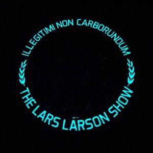 lars larson challenge coin back glow